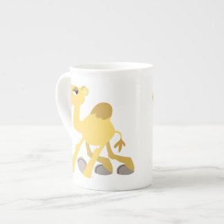 Cool and Cute Cartoon Camel Bone China Mug