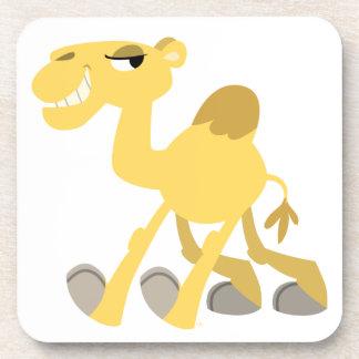 Cool and Cute Cartoon Camel Coaster Set