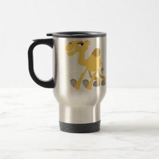 Cool and Cute Cartoon Camel Commuter Mug mug