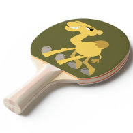 Cool and Cute Cartoon Camel Ping Pong Paddle Ping Pong Paddle