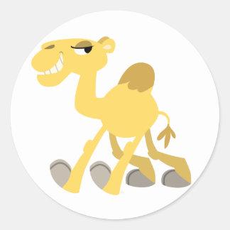 Cool and Cute Cartoon Camel Sticker