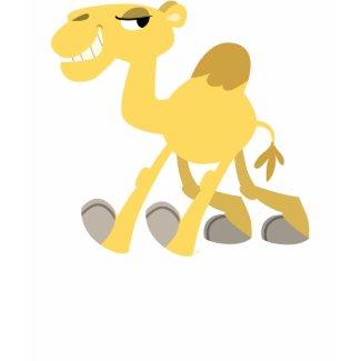 Cool and Cute Cartoon Camel Women T-Shirt shirt
