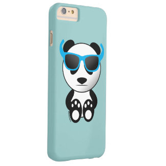 Cool and cute panda bear w sunglasses iPhone 6+ Barely There iPhone 6 Plus Case