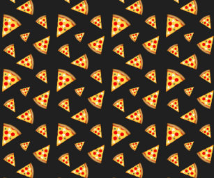 d6db2cce95ebad Cool and fun pizza slices pattern wrapping paper