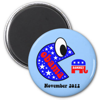 Cool and funny Obama 2012 2 Inch Round Magnet