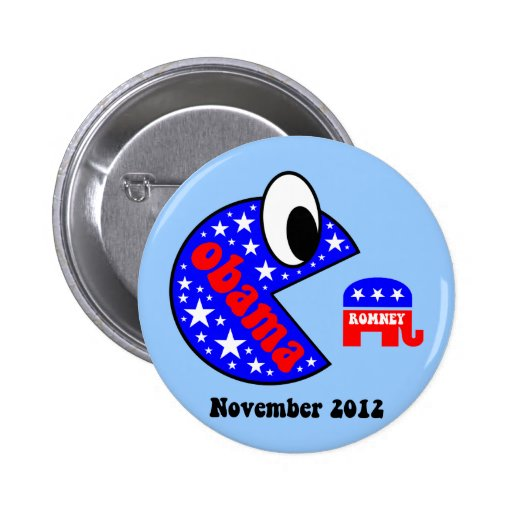 Cool and funny Obama 2012 Pinback Button