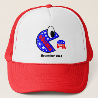 Cool and funny Obama 2012 Trucker Hat