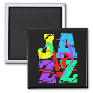 Cool and hip Jazz Magnet