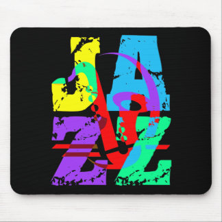 Cool and hip Jazz Mouse Pad
