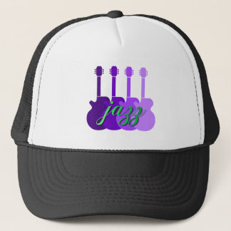 Cool and hip Jazz Trucker Hat