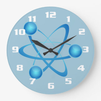 Cool and Nerdy Large Clock