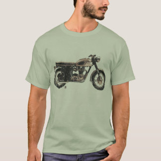 Cool and Simple British Motorcycle T-Shirt