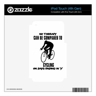 cool and trending cycling DESIGNS Skins For iPod Touch 4G
