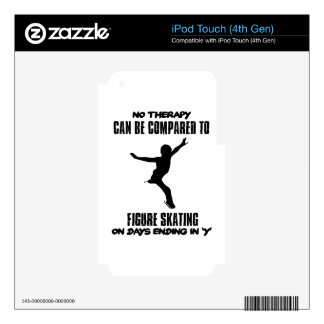 cool and trending Figure skating DESIGNS iPod Touch 4G Decals