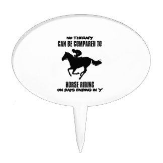 cool and trending Horse riding designs Cake Topper