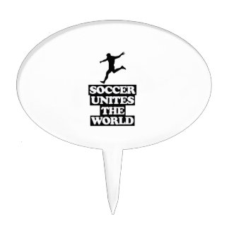 cool and trending soccer DESIGNS Cake Topper