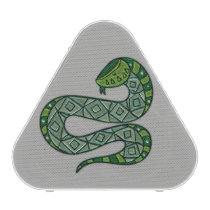 Cool and Trendy Green Fashion Snake Serpent Speaker