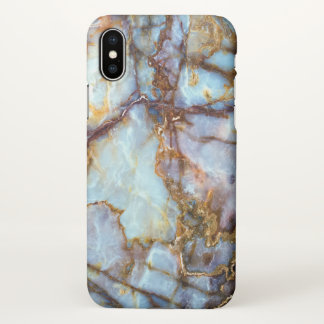 Cool and Trendy Marble Stone Texture Pattern iPhone X Case