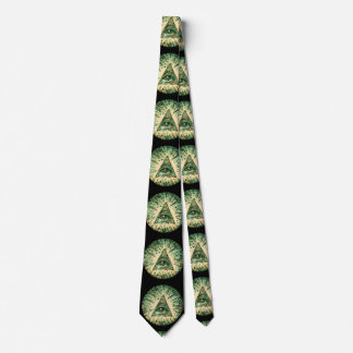 Cool and Unique Camouflage Illuminati Neck Tie