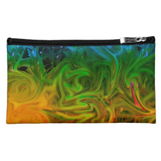 Cool and warm toned abstract bag