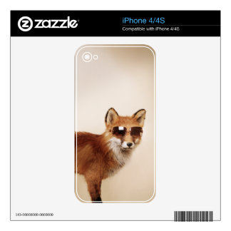 Cool animals in sunglasses. decal for the iPhone 4S