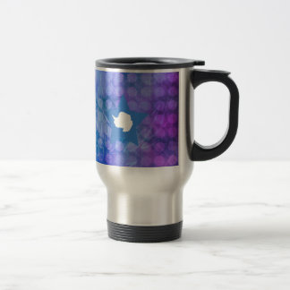 Cool Antarctica Flag Star Travel Mug