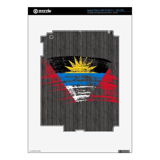 Cool Antiguan flag design Skin For iPad 3