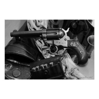 Cool antique gun photography poster