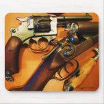 Cool antique guns mousepad