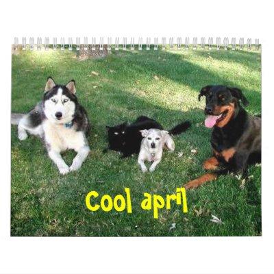 april calendar. Cool april calendar by Gretute