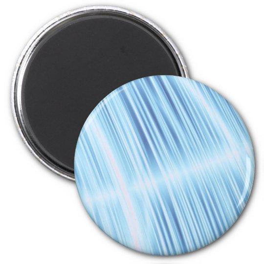 Cool Aqua Light Blur Feather Design turquoise Magnet