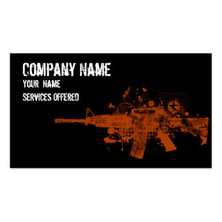 Cool Ar 15 red Business Card