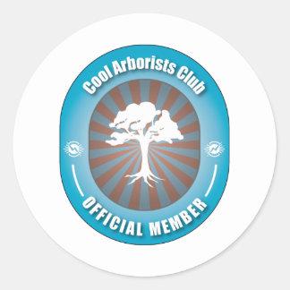 Cool Arborists Club Classic Round Sticker