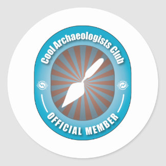 Cool Archaeologists Club Classic Round Sticker