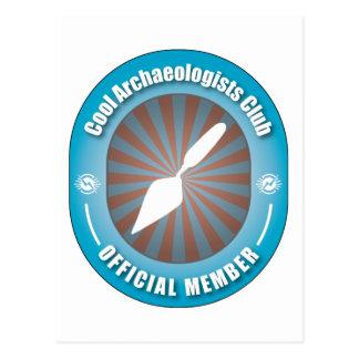 Cool Archaeologists Club Postcard