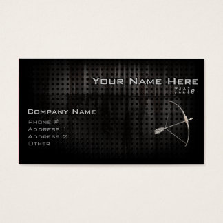 Cool Archery Business Card