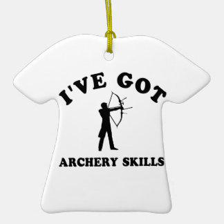 cool ARCHERY designs Christmas Ornaments