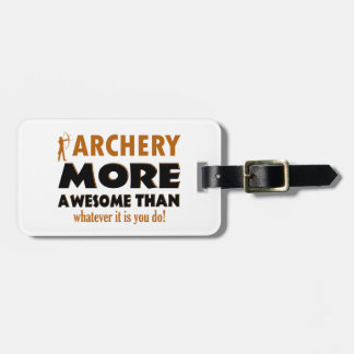 Cool Archery designs Luggage Tag