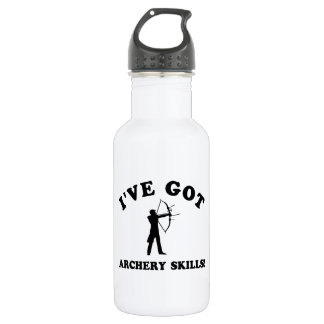 cool ARCHERY designs Stainless Steel Water Bottle