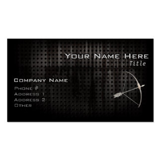 Cool Archery Double-Sided Standard Business Cards (Pack Of 100)