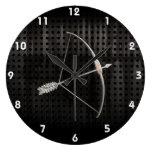 Cool Archery Large Clock
