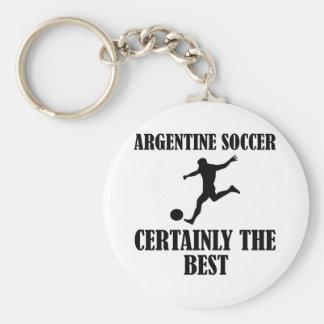 cool argentine  soccer designs key chain
