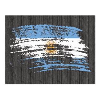 Cool Argentinean flag design Postcard