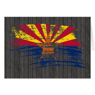 Cool Arizonan flag design Card