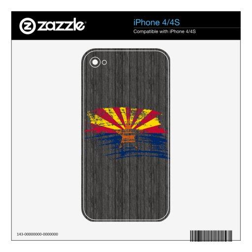 Cool Arizonan flag design iPhone 4 Skin