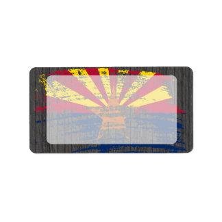Cool Arizonan flag design Custom Address Label