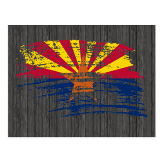 Cool Arizonan flag design Post Card