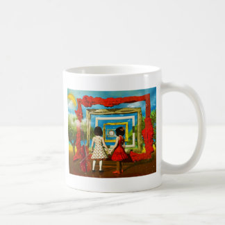 Cool art by Lenny surreal paintings Classic White Coffee Mug