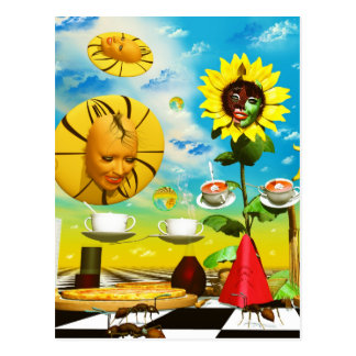 Cool art by Lenny surreal paintings Postcard