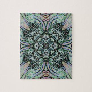 Cool Artistic Cross Shaped Pattern Jigsaw Puzzle